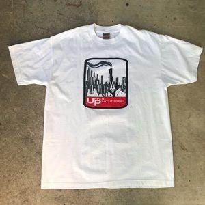 Vintage Upper Playground Smoking Gun/City T-Shirt